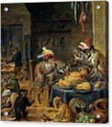 Banquete De Monos   Acrylic Print