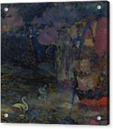 Baranoff-rossine Vladimir  1888-1944  Fairy Lake Acrylic Print
