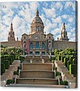 Barcelona Museu Nacional Dart De Acrylic Print