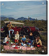 Barrett Family Picnic Acrylic Print