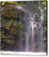 Base Of Waimoku Falls Acrylic Print