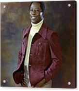 Baseball Great Hank Aaron Acrylic Print