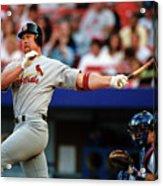 Baseball - Mark Mcgwire Acrylic Print