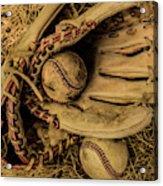 Baseball Mug Acrylic Print