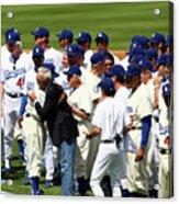 Baseball - National League - Giants Vs Acrylic Print