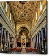 Basilica Di San Crisogono Acrylic Print