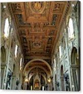 Basilica Di San Giovanni In Laterano Acrylic Print