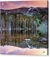 Basin Lake Sunset Acrylic Print
