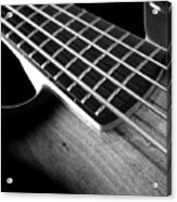 Bass Guitar Musician Player Metal Rock Body Acrylic Print
