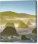 Bay In California Acrylic Print