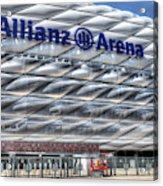 Allianz Arena Bayern Munich  Acrylic Print
