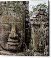 Bayon Faces, Angkor Wat, Cambodia Acrylic Print