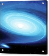 Be X-ray Binary System Acrylic Print