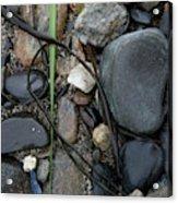 Beach Kanji Acrylic Print