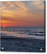 Beach Sunrise Acrylic Print