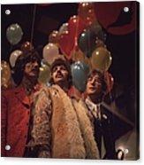 Beatles And Balloons Acrylic Print