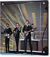 Beatles On Us Tv Acrylic Print