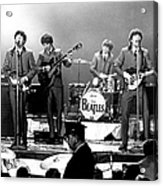 Beatles Perform In Washington, D.c Acrylic Print