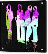 Beatles Watercolor II Acrylic Print