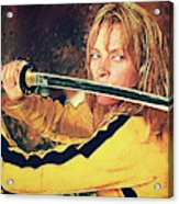 Beatrix Kiddo - Kill Bill Acrylic Print