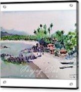 Beautiful Beach In Goa India Acrylic Print