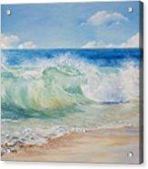 Beautiful, Blue, Tropical Sea And Beach Acrylic Print