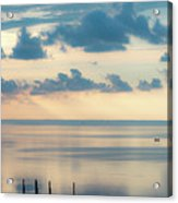 Beautiful Clouds Over Pamlico Sound Acrylic Print