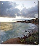 Beautiful Laguna Coast After Sunset Acrylic Print