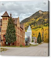 Beautiful Small Town Rico Colorado Acrylic Print