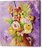 Beauty On Bouquet Acrylic Print