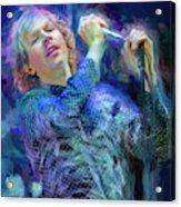 Beck Singer Songwriter Acrylic Print