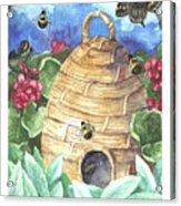 Beehive Welcome Acrylic Print