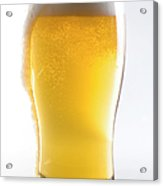 Beer Glass Wclipping Path Acrylic Print