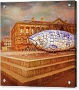 Belfast Big Fish Acrylic Print