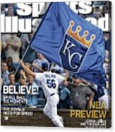 Believe 2014 World Series Preview Issue Sports Illustrated Cover Acrylic Print