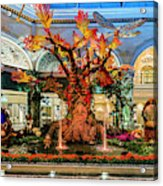 Bellagio Enchanted Talking Tree Ultra Wide 2018 2 To 1 Aspect Ratio Acrylic Print