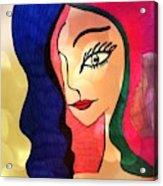 Belle Dame Acrylic Print
