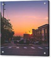Bellingham Sunset Acrylic Print