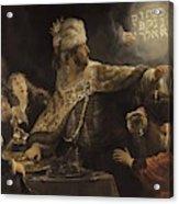 Belshazzar S Feast  Acrylic Print