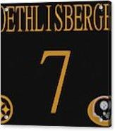 Ben Roethlisberger Jersey Acrylic Print