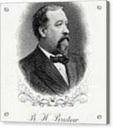 Benjamin Bristow Acrylic Print