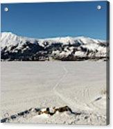 Bennett Lake At Carcross Yukon Acrylic Print