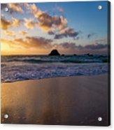 Bermuda Beach Sunrise Acrylic Print