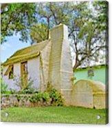 Bermuda Botanical Gardens Cottage Acrylic Print