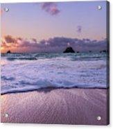 Bermuda Sunrise Welcome To Heaven Crossbay Beach Acrylic Print