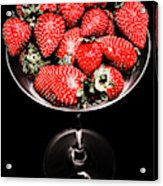 Berry Tonic Acrylic Print