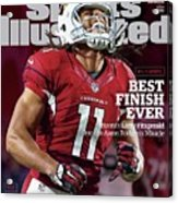 Best Finish Ever Arizonas Larry Fitzgerald One-ups Aaron Sports Illustrated Cover Acrylic Print