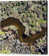 Betsie River Curve Acrylic Print