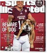 Beware Of dog 2015 College Football Preview Issue Sports Illustrated Cover Acrylic Print