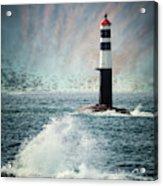 Beyond The Northern Waves Acrylic Print